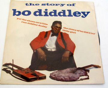 Bo Diddley THE STORY OF BO DIDDLY 1963 UK EP EX+ AUDIO